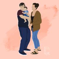 A Family Portrait: Nick & Kerrie