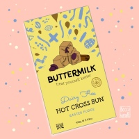 Buttermilk Vegan Hot Cross Bun Fudge