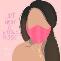 Wear A Bloody Mask