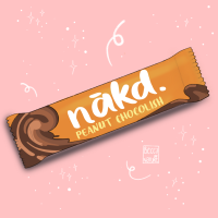 Nakd. Peanut Chocolish Bar