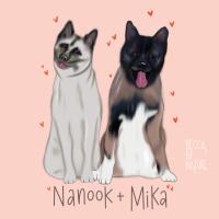 Nanook & Mika